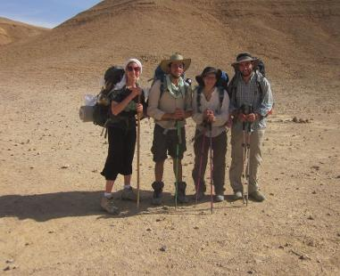 Hikers from Eilat