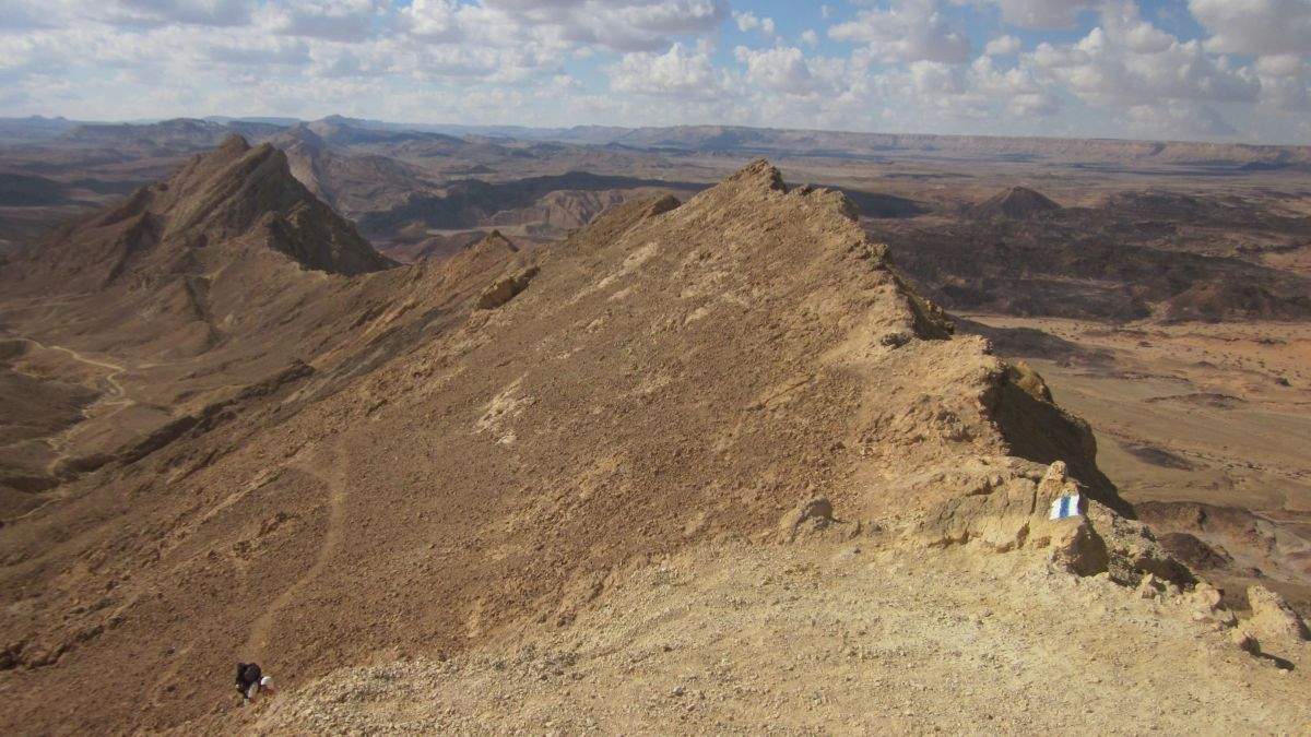 The dry Karpolet ( כרבולת חררים ): alone on top of the world