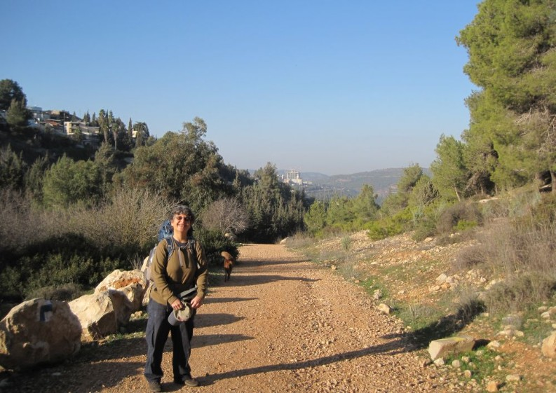 The Jerusalem trail down to Ein Kerem