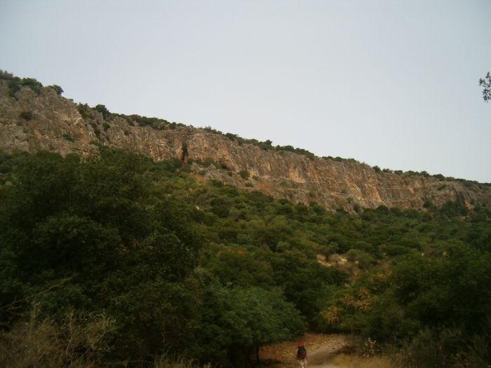 Cliffs of Wadi Dishon