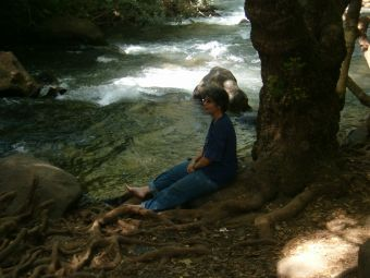 Diana by the Hermon river