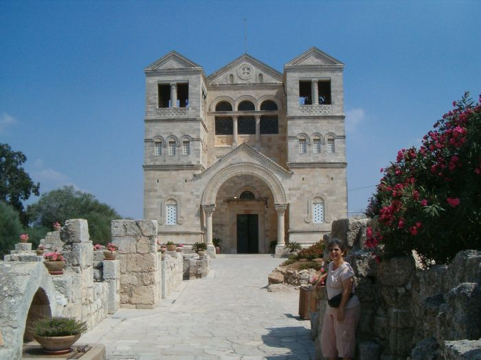 Franciscan monastery on the top of Mount Tabor in honor of the