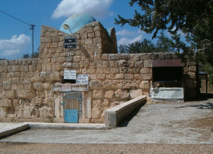The tomb of Rabbi Yehuda Hanassi
